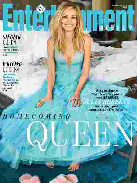"""Julia Roberts na capa da revista """"Entertainment Weekly"""" - Reprodução"""