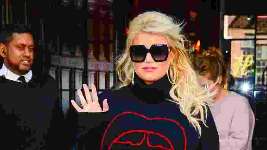 """Em 2005, ela pediu o divórcio de Nick Lachey, alegando que eles """"nem estavam falando um com o outro"""" - Getty Images"""