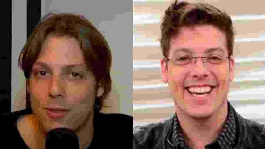 Fabio Porchat em 2009 e agora, em 2019 - Reprodução/Instagram