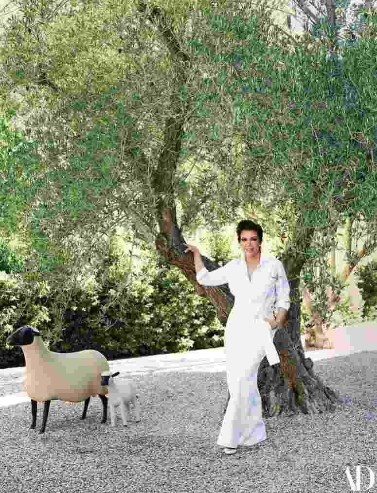 Mansão de Kris Jenner - William Abranowicz/Achitectural Digest