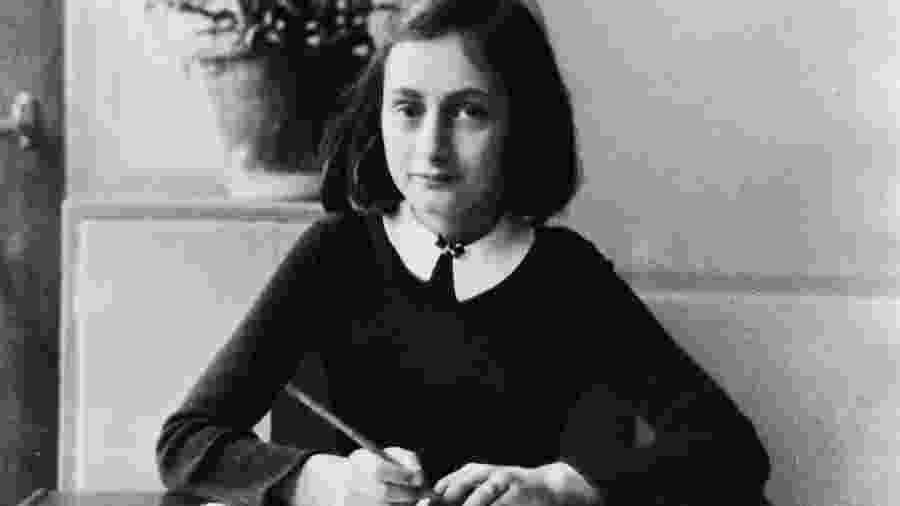 """""""O Diário de Anne Frank"""" é uma das obras mais lidas do mundo: traduzido em 70 idiomas, vendeu cerca de 30 milhões de cópias. - Getty Images"""