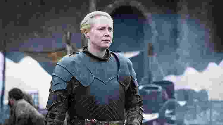 Brienne de Tarth (Gwendoline Christie) - Divulgação - Divulgação