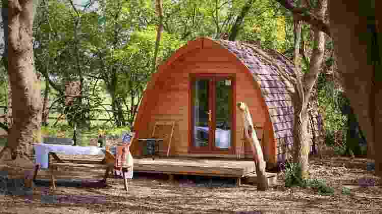 Glamping West Stow Pods (Inglaterra) - Divulgação/West Stow Pods - Divulgação/West Stow Pods