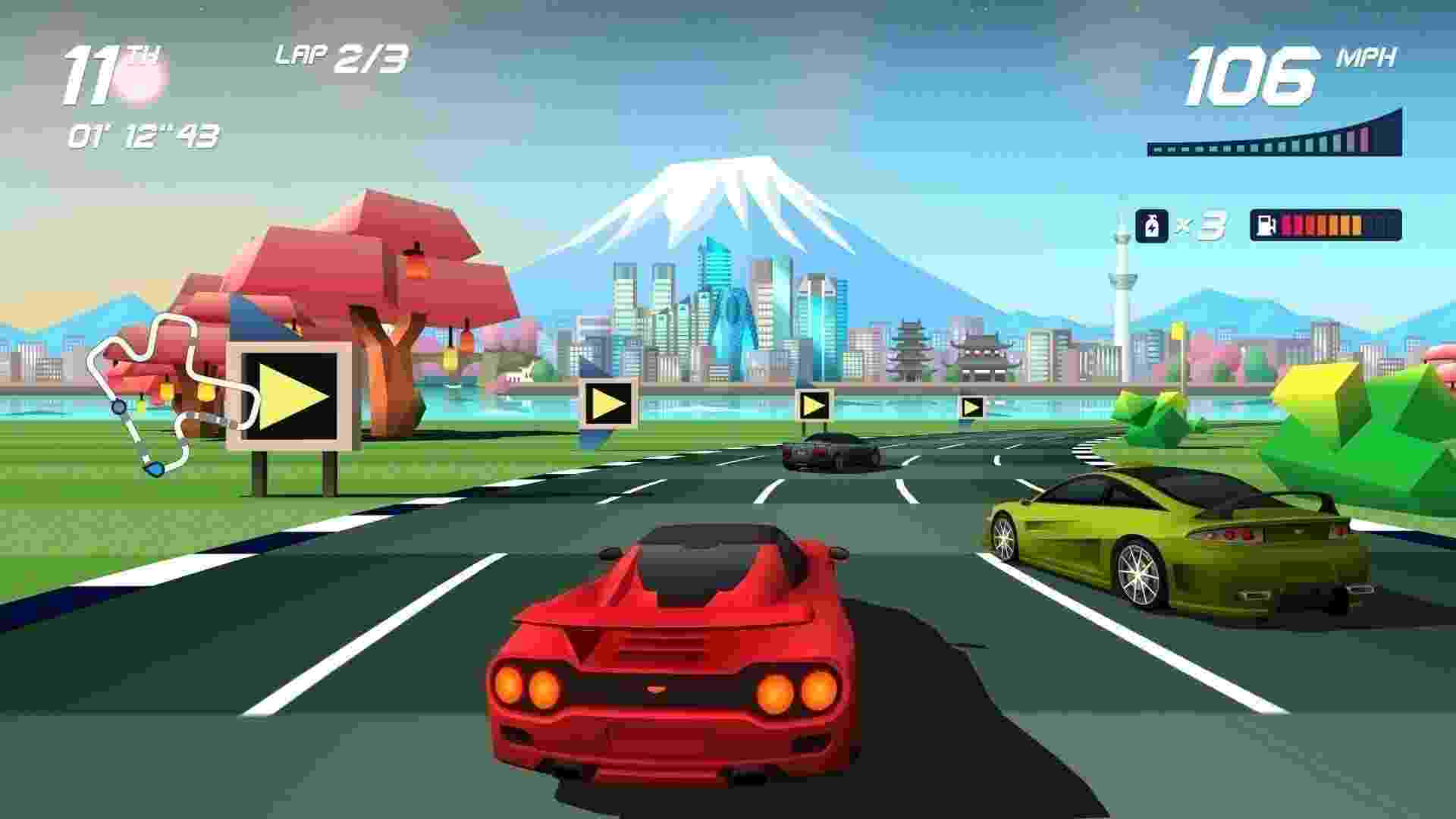 Horizon Chase Turbo - Reprodução