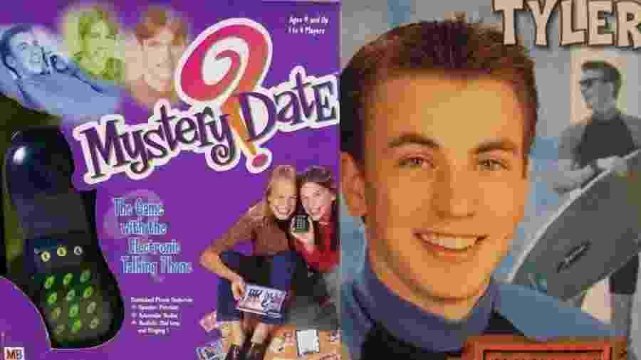 Chris Evans no game Mistery Date - Reprodução