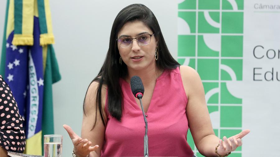 Base do mandato da deputada federal Chris Tonietto (PSL-RJ) é pauta contra aborto - Claudio Andrade/Agência Câmara