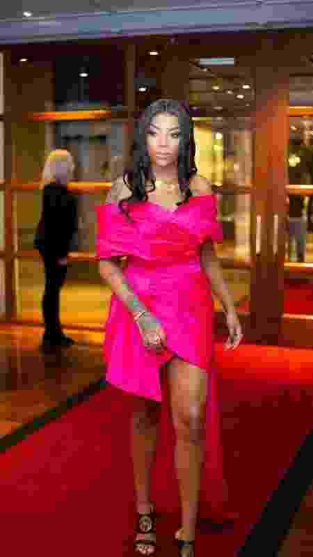 Ludmilla em festa pré-Grammy - Divulgação