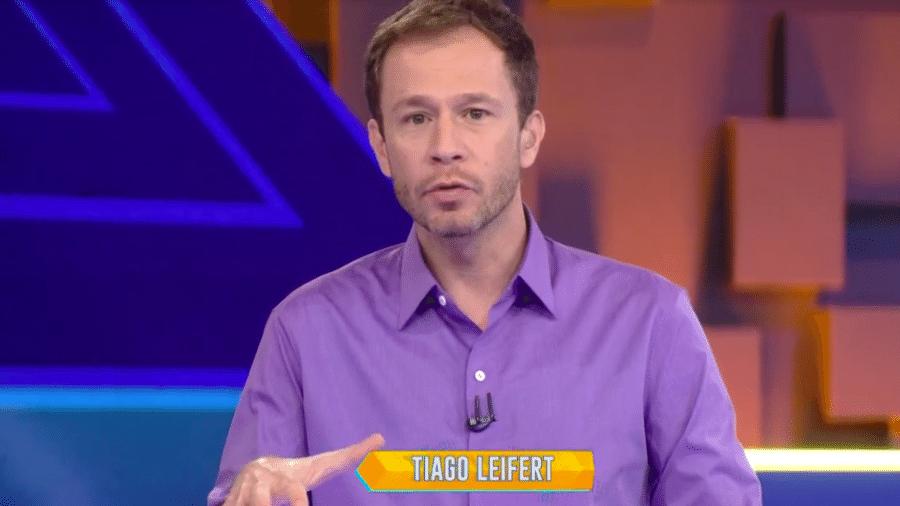 Tiago Leifert - Reprodução/TV Globo