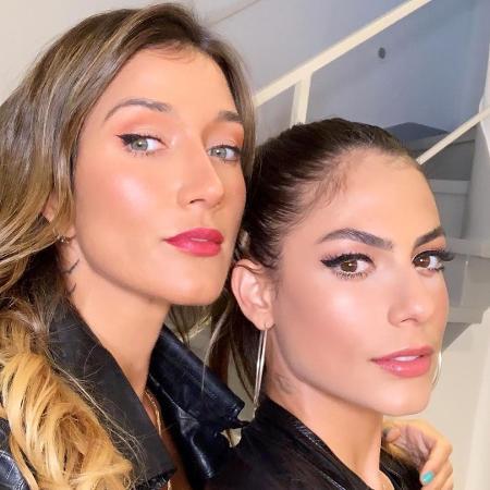 """Gabriela Pugliesi com a """"brother"""" Mari Gonzalez - Reprodução/Instagram"""