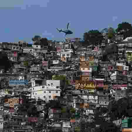Favela da Rocinha, na zona sul do Rio de Janeiro - Fernando Frazão/Agência Brasil