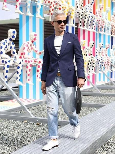 Editor e consultor de moda, Sylvain Justum reflete sobre o que construiu seu estilo ao longo dos anos - Arquivo Pessoal