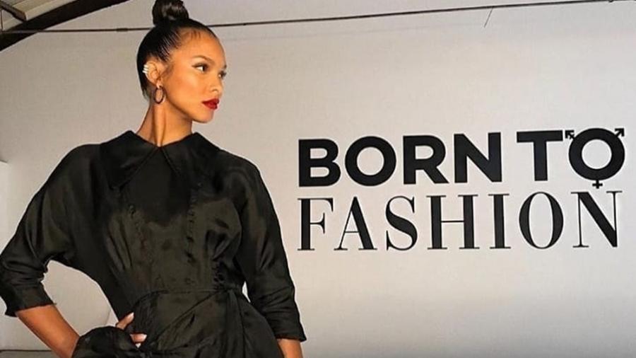 """Laís Ribeiro, apresentadora do """"Born To Fashion"""", do canal E! - Reprodução"""