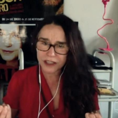 Lucélia Santos no Conversa com Bial - Reprodução/vídeo