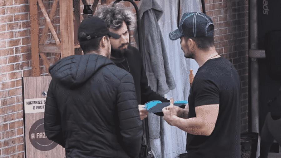 """""""A Fazenda 2020"""": JP Gadêlha, Cartolouco e Lipe Ribeiro falam sobre formação da roça - Reprodução/RecordTV"""