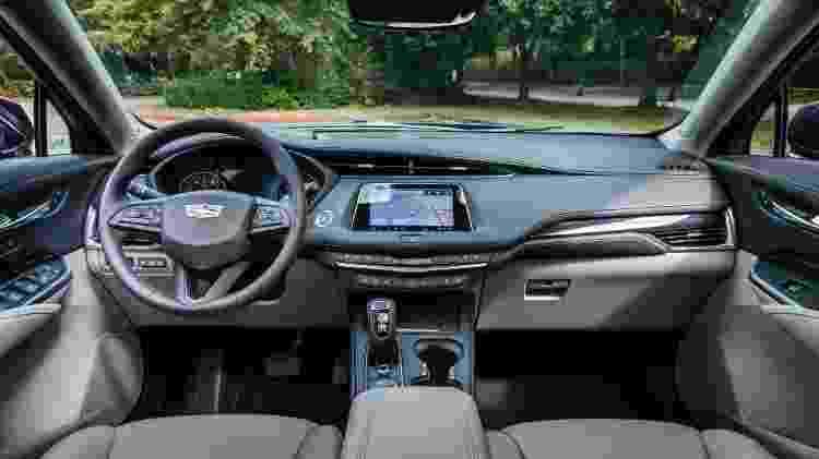 Cadillac XT4 2021 interior - Divulgação - Divulgação