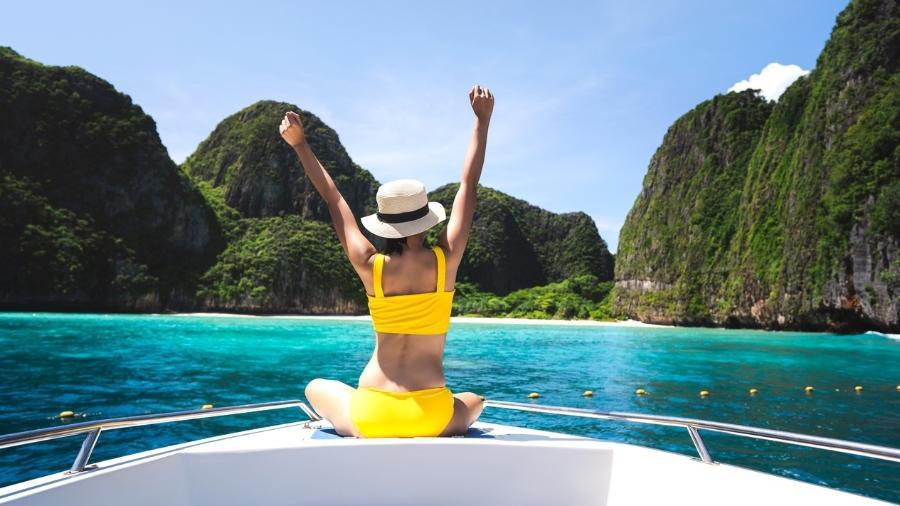 Maya Bay, Krabi, Tailândia - Wiphop Sathawirawong/Getty Images/iStockphoto
