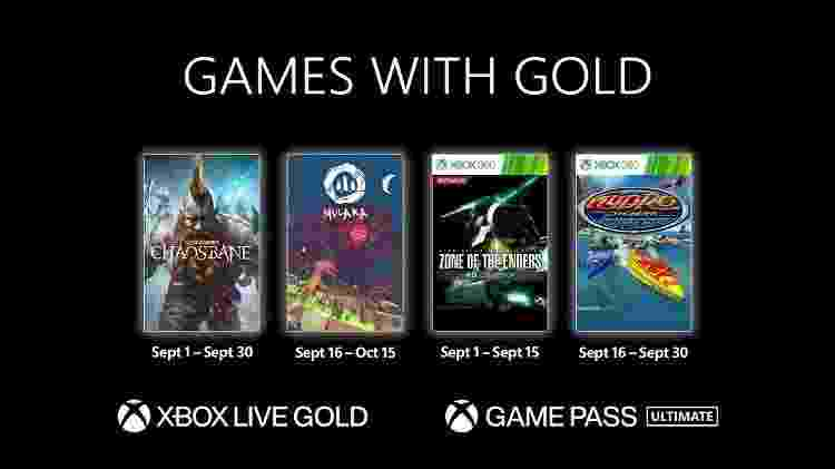 Jogos de graça para Xbox em setembro - Divulgação/Xbox - Divulgação/Xbox