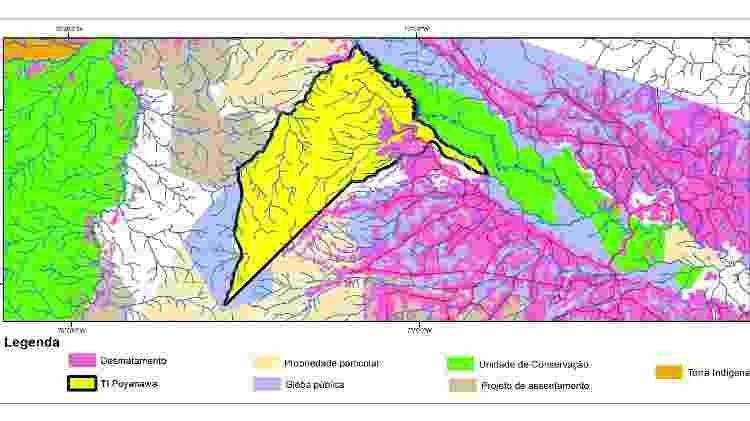 Mapa - Eufran Amaral - Eufran Amaral