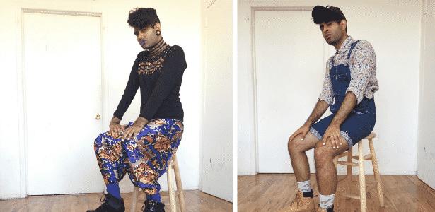 Alok é artista transgênero e mostra o que gostaria de usar em uma sessão de fotos em casa - Reprodução/Medium - Reprodução/Medium