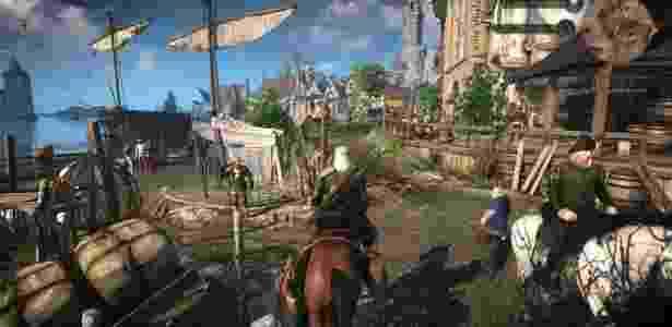 """Aventura medieval em um mundo enorme para explorar, """"The Witcher 3: Wild Hunt"""" (PC, PS4, XBO) é um dos melhores jogos da atualidade - Divulgação"""