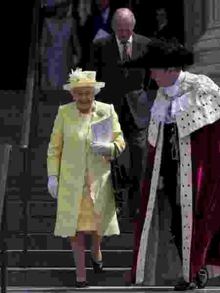 Rainha Elizabeth II deixa mensagem de Natal - Reprodução/AFP