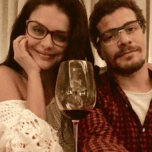 16.ago.2016 - Thiago Martins e Paloma Bernardi posaram juntos acabando com os rumores de que o namoro estaria em crise. - Reprodução/Instagram tgmartins