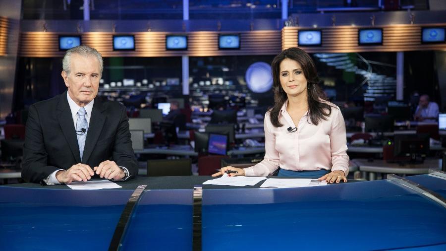 Jornal da Record, apresentado todas as noites por Celso Freitas e Adriana Araújo - Divulgação