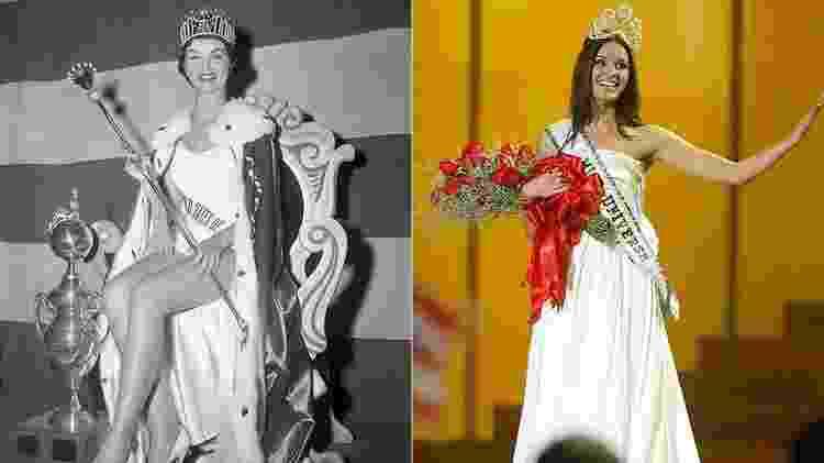 Duas vencedoras já perderam a coroa: a norte-americana Leona Gage (1957) e a russa Oxana Fedorova (2002) - Divulgação/Getty Images - Divulgação/Getty Images