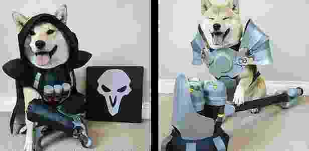 Vox Reaper e Reinhardt - Reprodução/Outside the Vox - Reprodução/Outside the Vox