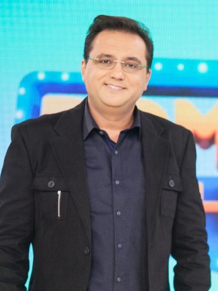 O apresentador Geraldo Luís - Edu Moraes/Divulgação/Record TV