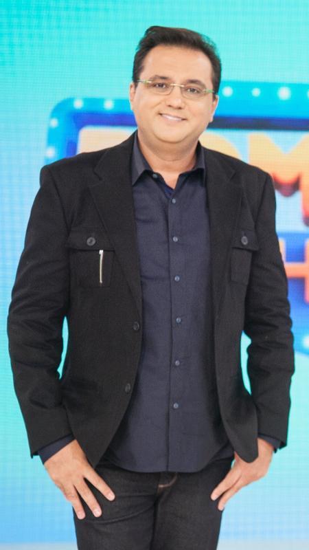 O apresentador Geraldo Luis - Edu Moraes/Divulgação/Record TV