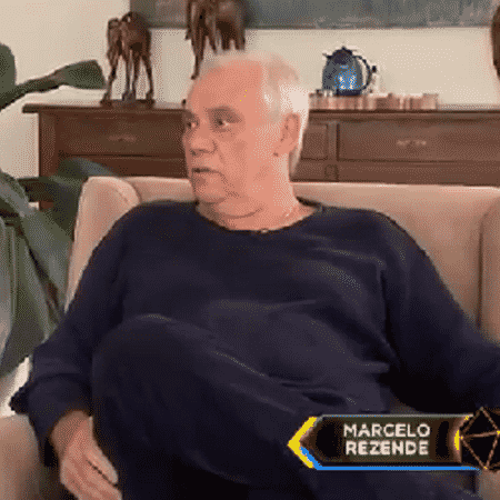 Marcelo Rezende na entrevista - Reprodução/TV Record