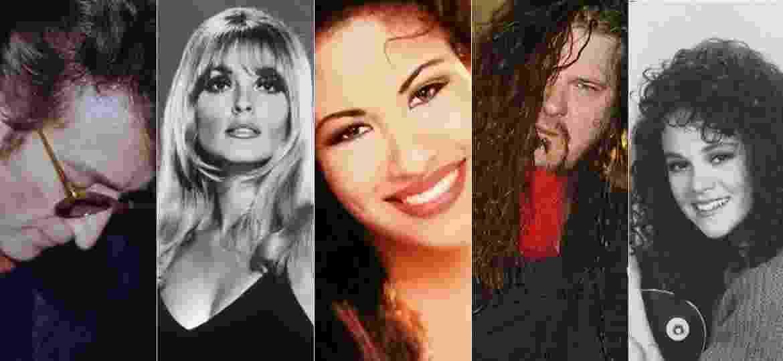 Artistas que foram assassinados por fãs: John Lennon, Sharon Tate, Selena, Dimebag Darrell e Rebecca Schaffer - Divulgação