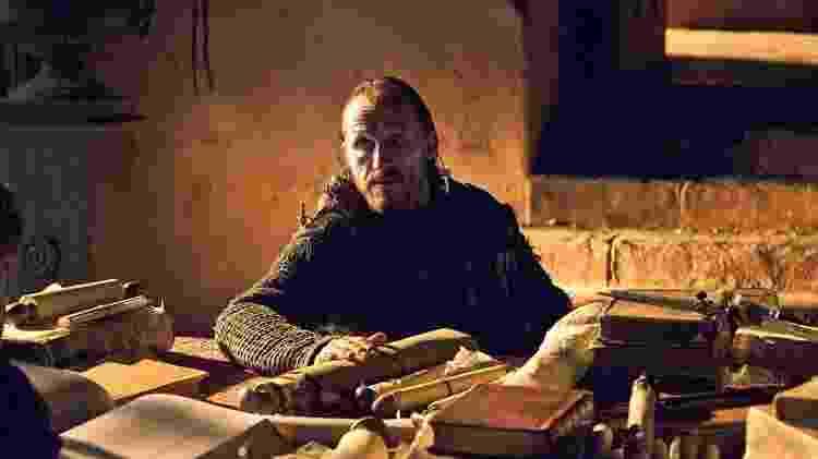 Além de interpretar o guerreiro Bronn na série, o inglês Jerome Flynn é cantor - Divulgação - Divulgação