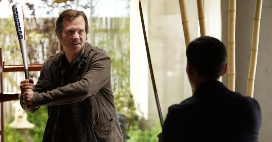 """Bill Paxton em episódio da Série """"Dia de Treinamento"""""""