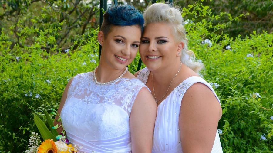 Lauren Price e Amy Laker - Reprodução/Facebook