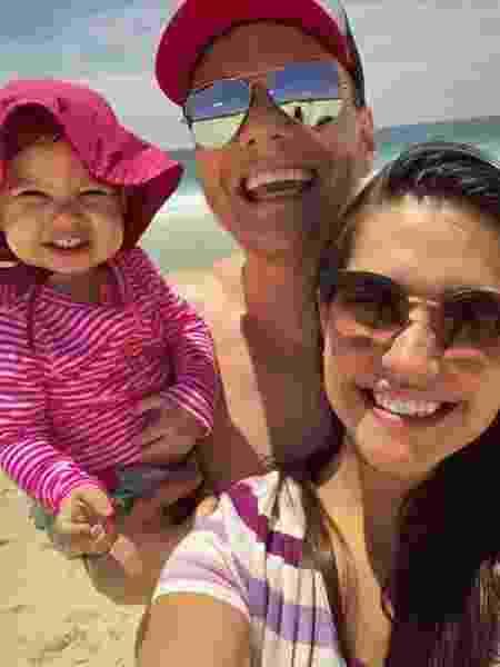 Família de Teló curte praia - Reprodução Instagram