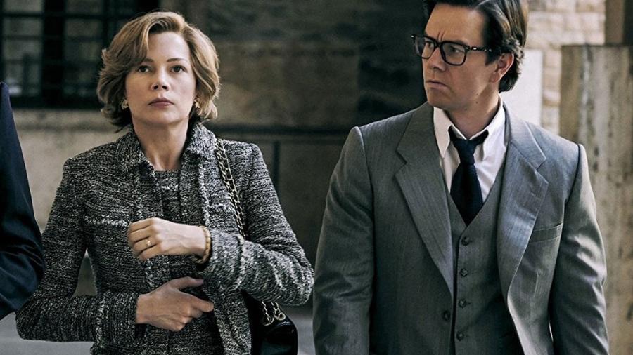 """Mark Wahlberg e Michelle Williams em cena em """"Todo o Dinheiro do Mundo"""" (2017) - Divulgação"""