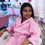 Aniversário de 9 anos de Kyara Belfort, filha de Joana Prado e de Vitor Belfort - Reprodução/Instagram
