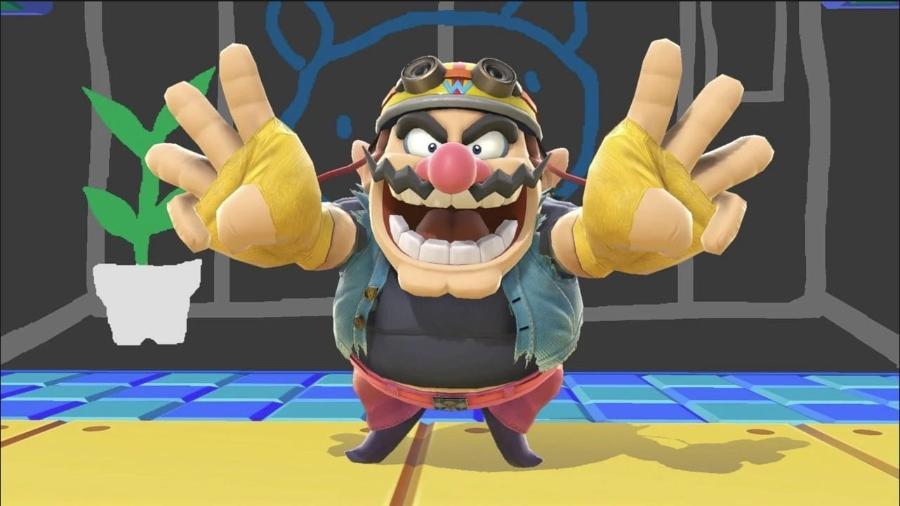 Super Smash Bros Ultimate - Wario - Divulgação