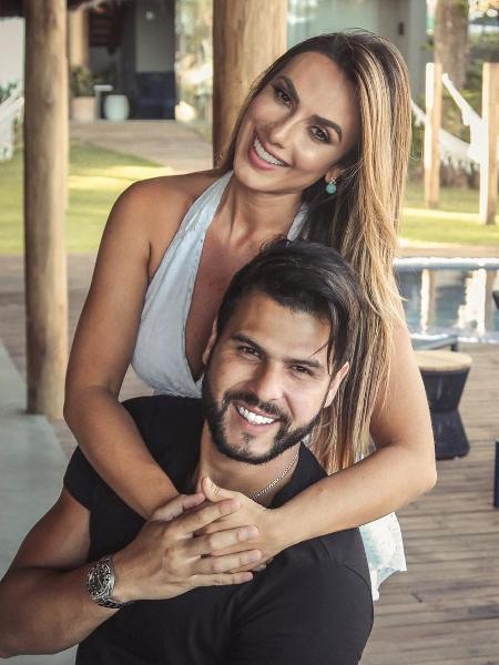 Nicole Bahls e o noivo Marcelo Bimbi - Reprodução/Instagram