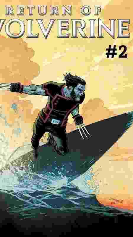 """Capa de """"Return of Wolverine #2"""" - Reprodução/Marvel - Reprodução/Marvel"""