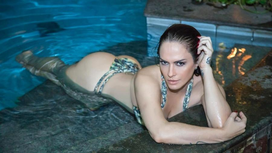 Nubia Oliiver faz ensaio sensual - Rodrigo Dod/Divulgação