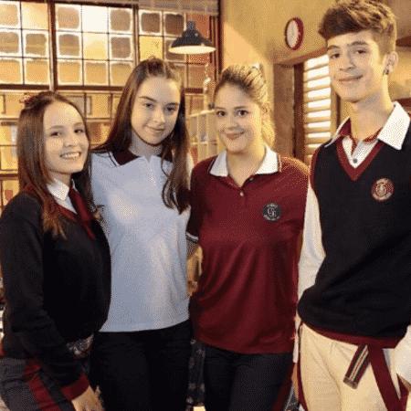 Larissa Manoela, Isabella Moreira, Maria Cavalcante e João Guilherme - Reprodução/Instagram