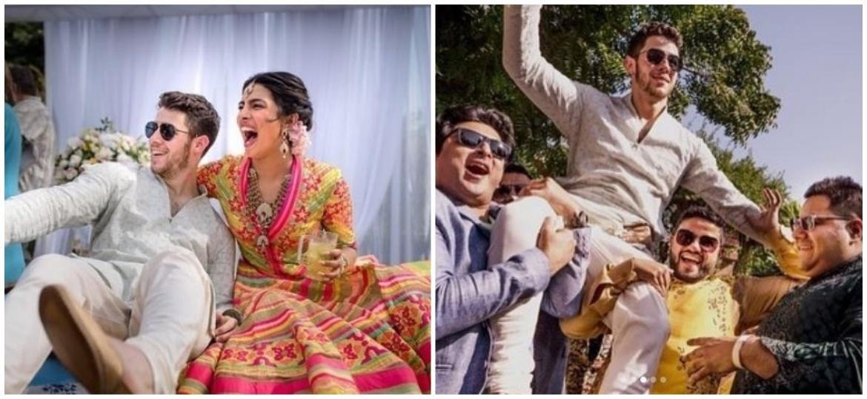 Nick Jonas e Priyanka Chopra se casam em palácio luxuoso na Índia - Montagem UOL