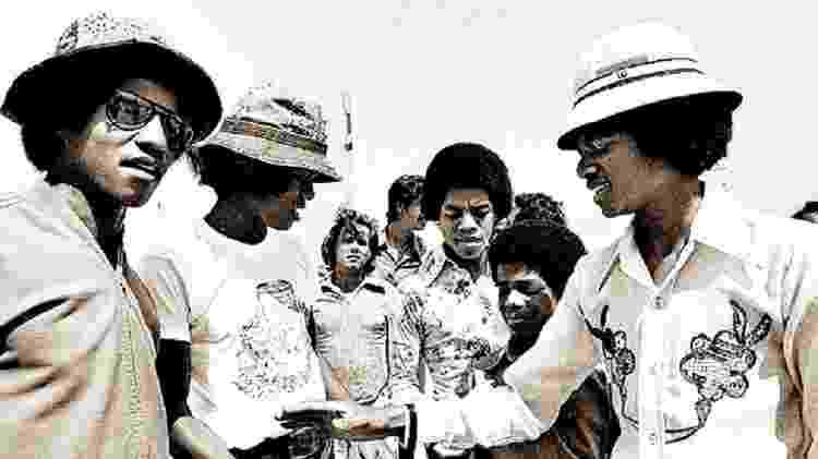 O Jackson 5 no Rio - Reprodução - Reprodução