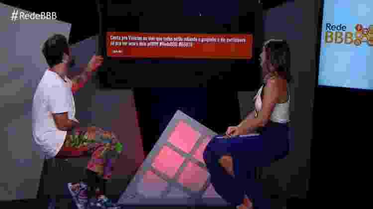 Vivian e Vinicius - Reprodução/GloboPlay - Reprodução/GloboPlay