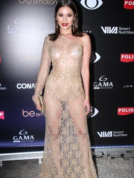 Maria Melilo no Miss Brasil - Reprodução/Instagram