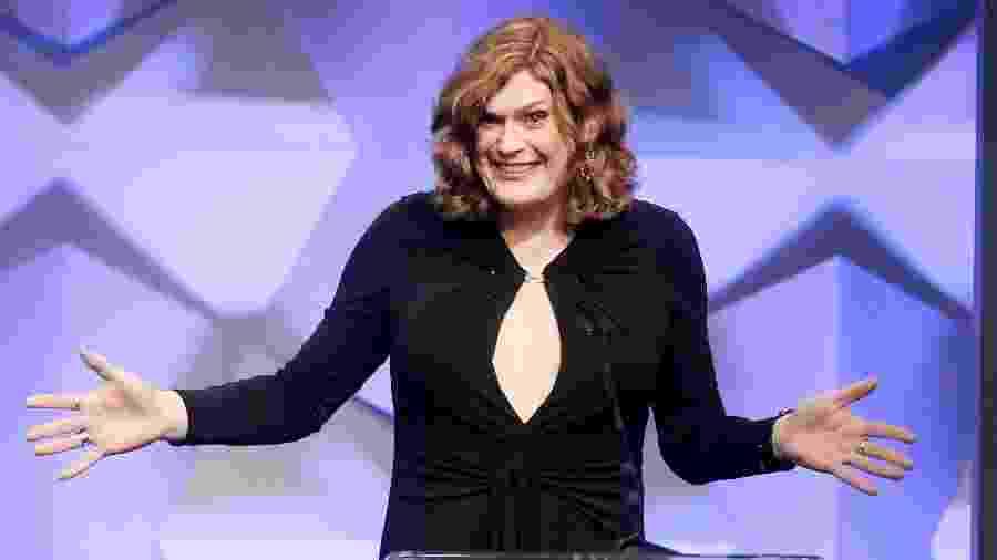 Lilly Wachowski em premiação em Beverly Hills - Getty Images