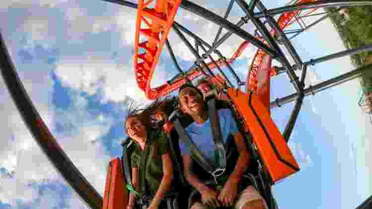 Na Tigris, público atingirá uma velocidade de aproximadamente 100 km/h - Divulgação/SeaWorld Parks & Entertainment - Divulgação/SeaWorld Parks & Entertainment